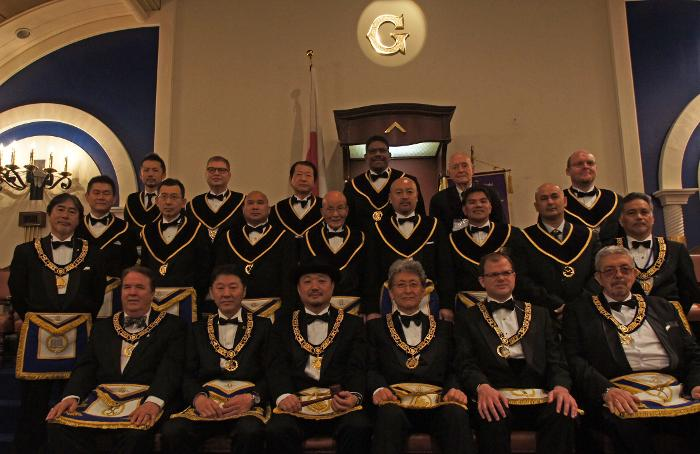 59 TH ANNUAL COMMUNICATION OF THE GRAND LODGE OF JAPAN, MARCH  201